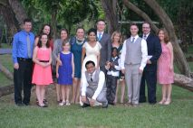 the extended family, minus several :(